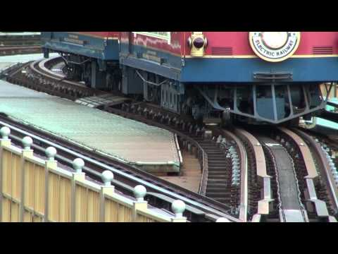 Disney Electric Railway (Third rail system) Tokyo Disneysea