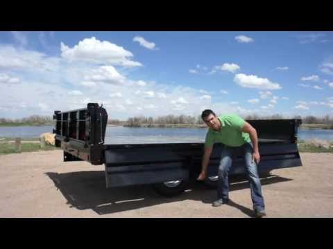 14,000lb Deckover Dump Trailer