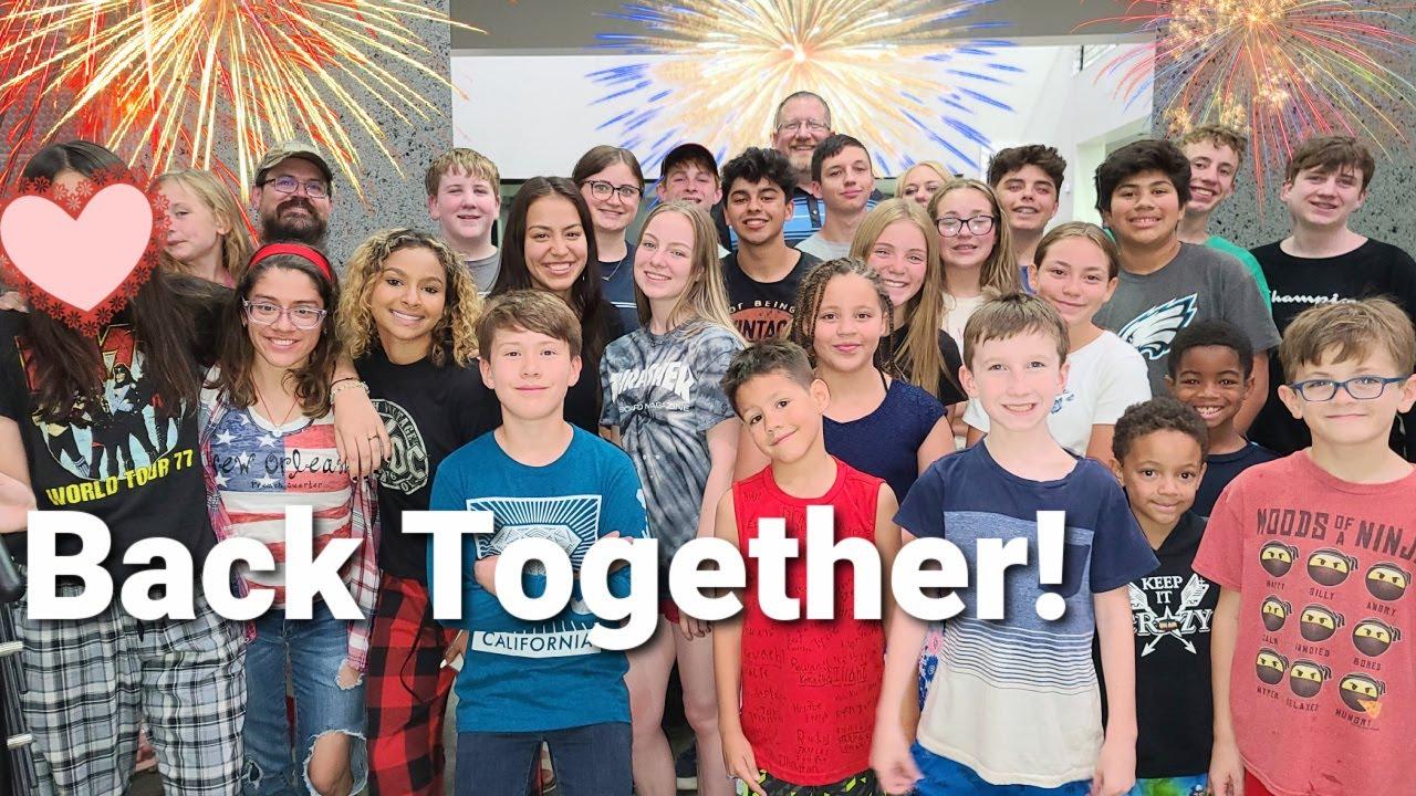 Back Together | Huge Party!