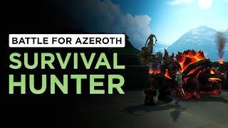 Xuen   BFA Alpha   Going over Survival Hunter spec/abilities
