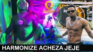 """VIDEO:HARMONIZE acheza """"JEJE"""" ya DIAMOND,mashabiki wapagawa,tazama hapa utapenda mwenyewe."""