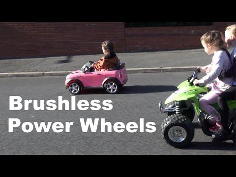 HPIGUY | Brushless Power Wheels Conversion = Fun