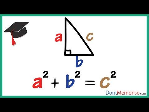 Pythagoras' Theorem ( GMAT / GRE / CAT / Bank PO / SSC CGL)