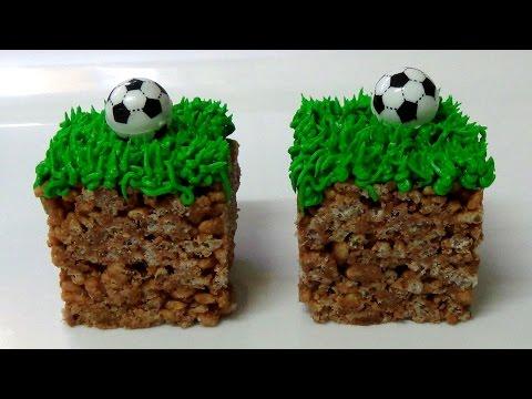 how to make mars bars football slice