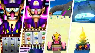 Mario Kart Ds Unused Drums In Gba Peach Luigi Circuit