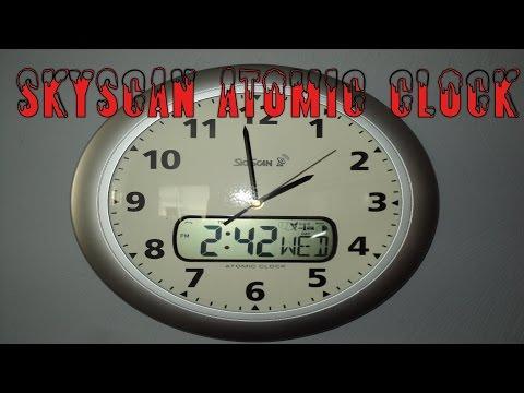 SkyScan Atomic Clock  - Model 27010 Review