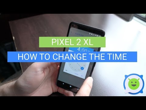 Pixel 2 XL: How To Change the Time