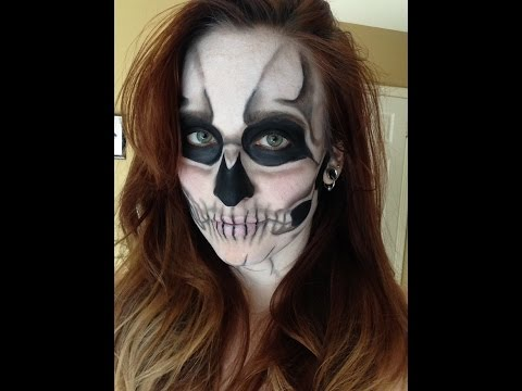 Basic Skull (Lady Gaga Born This Way inspired) Makeup Tutorial