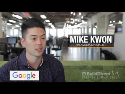 Google | BuildDirect Partner Summit 2015 Sponsor