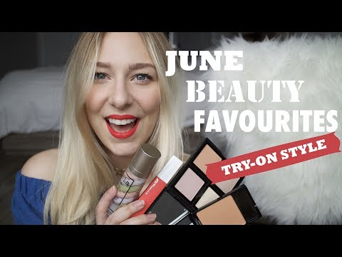 CURRENT BEAUTY FAVOURITES | TRY-ON STYLE