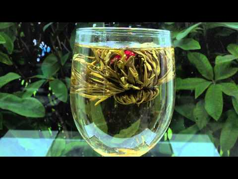 Blooming Green Tea Ball 3