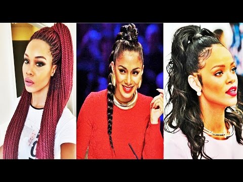 Latest Cool Ponytail Hairstyles For African American Women