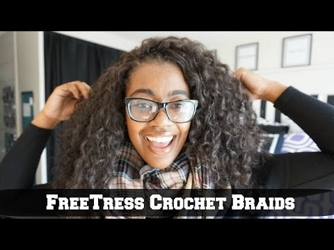 FreeTress Crochet Braids || Barbadian Braid