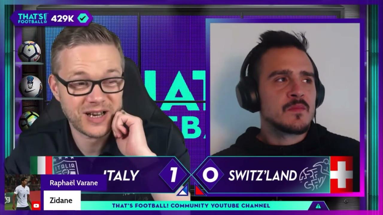 GOLDBRIDGE & GOLDBERG Best Bits   Italy 3-0 Switzerland   EURO 2020