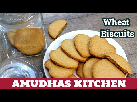 Homemade Wheat Biscuits in Tamil   How to make Atta Biscuits   Bakery Salt Biscuits