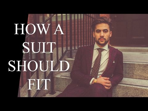 How a Suit Should Fit | Mens Suit Buying GUIDE | Suit Basics