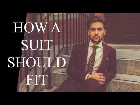 How a Suit Should Fit | Mens Suit Buying GUIDE | Suit Basics