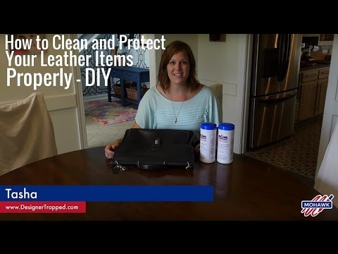 How to Clean and Protect Your Leather Items Properly DIY
