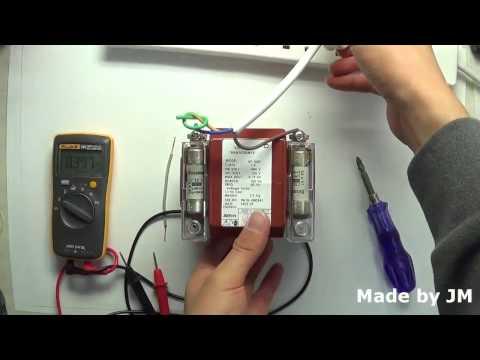 How to check the transformer polarity (Testing 480V Potential Transformer)