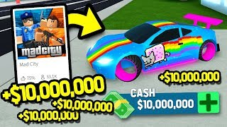 Getting The New 3 Million Fastest Car Fury Roblox Mad City New - I Bought All Cars In Mad City Roblox Mad City All Cars