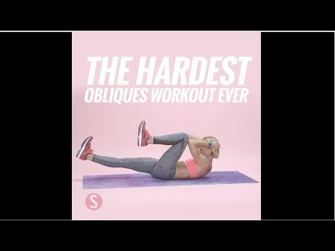 Hardest Obliques Workout Ever | SHAPE