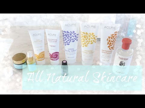 MY ALL NATURAL SKIN CARE ROUTINE || AFFORDABLE SKIN CARE PRODUCTS