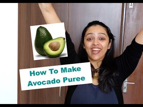 How to make Avocado Puree for Babies (First Foods for Babies)
