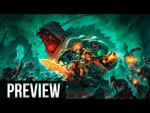Battle Chasers Nightwar - Gameplay / Preview - Xbox One