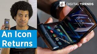 Motorola Razr Hands on Review | Innovation and Nostalgia