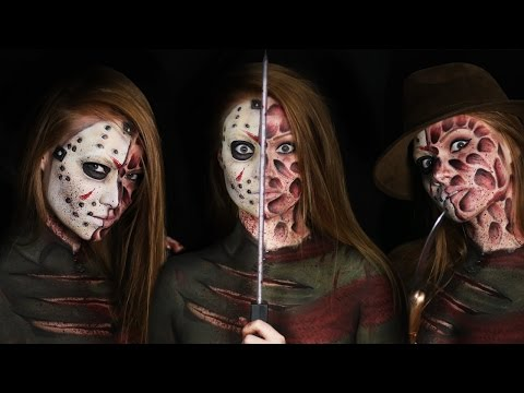 Freddy vs. Jason Makeup Tutorial (Clothes Painted On!)