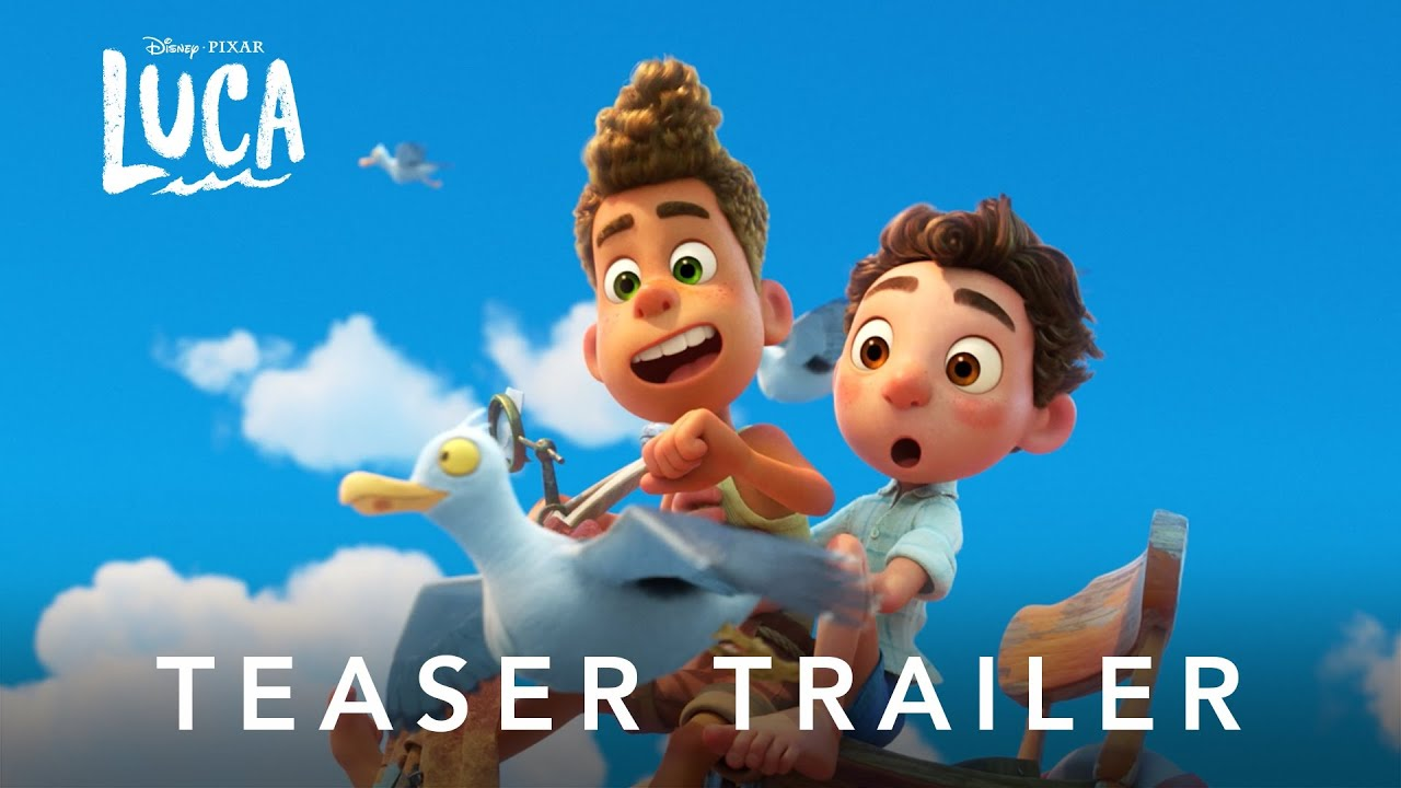 Disney and Pixar's Luca | Teaser Trailer