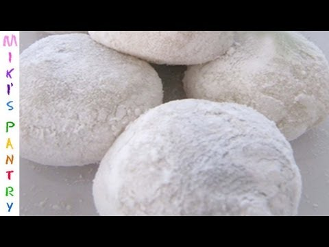 HOW TO MAKE MOCHI EASY TASTY MOCHI