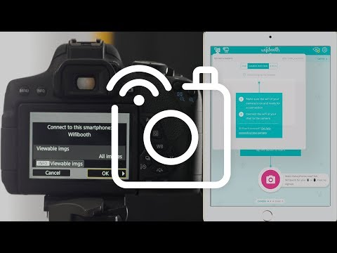 How to connect your CAMERA to your iPad, iPhone with Wifibooth