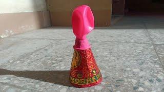 New Experiment Annar & Balloon | Amazing Experiment|Awesome Experiment|Crackers Experiment in hindi