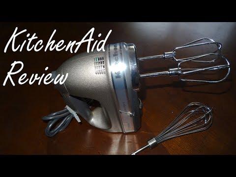 KitchenAid Review - KitchenAid Architect Hand Mixer Review