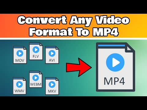 How to convert any video format to MP4