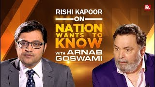 Rishi Kapoor On Nation Wants To Know With Arnab Goswami | Full Episode
