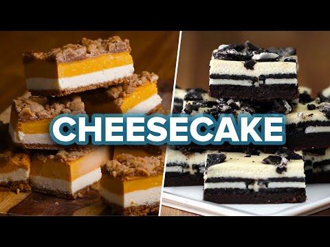Cheesecake Bars 4 Ways