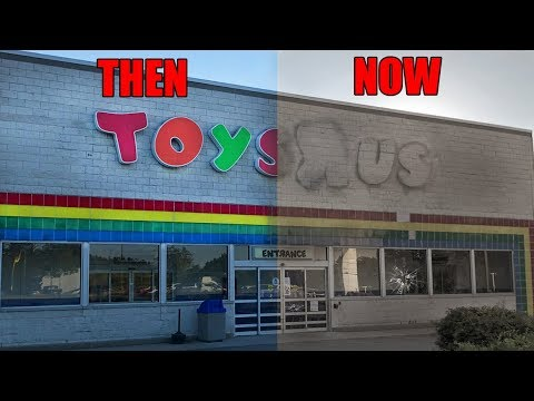 ABANDONED Toys R Us - One Week After CLOSING FOREVER