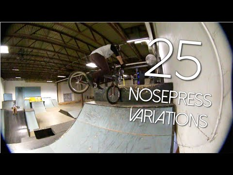 25 Creative Nose Press Variations