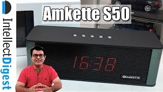 Amkette Truebeats S50 Smart Wireless Bluetooth Speaker Review- Is It Worth The Money?