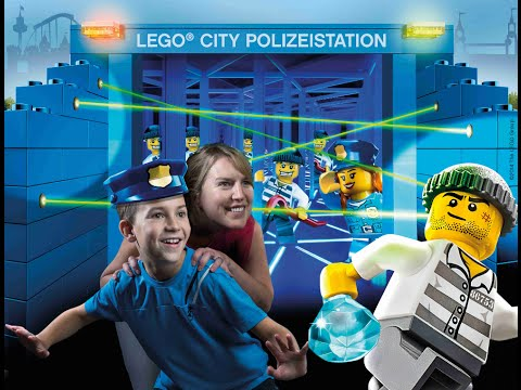 Lego City Polizeistation Walkthrough | Legoland Deutschland - Die Neuheit 2015