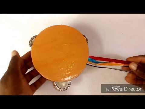How  To Make Cardboard Tambourine