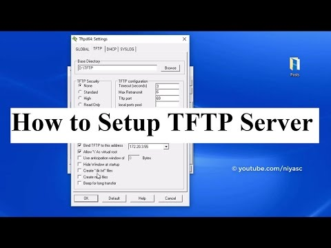 How to Setup TFTP Server in Windows Using Tftpd64/Tftpd32