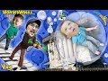BUBBLE BOY Upside Down House Playtime W GIANT Piano Robot Dessert FUNnel Vision MB Vlog 4