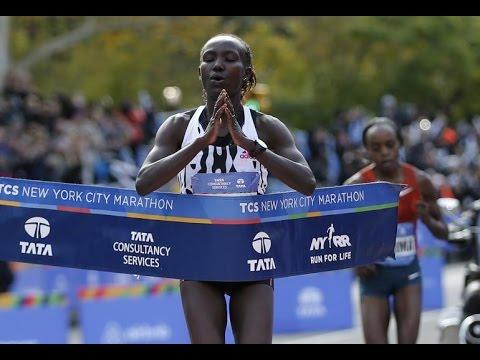 TCS New York City Marathon - Highlights Central Park *HD*