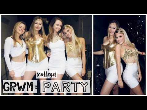 Get Ready With Me (+ friends): A College Party | Tasha Farsaci