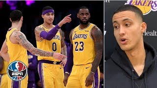 Kyle Kuzma lays out Lakers
