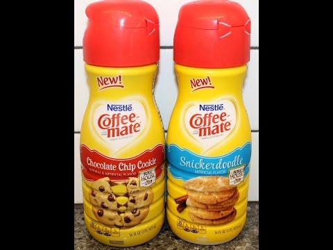 Nestle Toll House Coffee-Mate: Chocolate Chip Cookie & Snickerdoodle Review