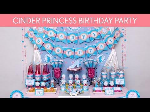 Cinder Princess Party Ideas // Cinder Princess - B99